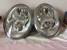 BMW MINI MK1 R50, R52 AND R53 MODELS PASSENGER / FRONT RIGHT AND LEFT HEADLIGHT