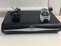 SKY+HD BOX WITH REMOTE CONTROL FOR SALE USED IN GOOD WORKING CONDITION !