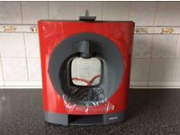 Brand new coffee machine Nescafe Dolce Gusto Oblo cherry by Krups - unwanted gift