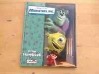 Disney Pixar Monsters Inc Film Storybook