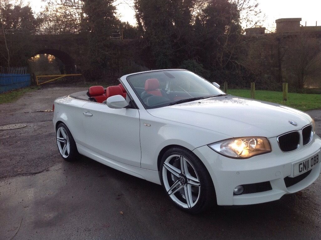 bmw 1 series convertible 2 0 118d m 3dr 11 plate 141 bhp diesel in burton on trent. Black Bedroom Furniture Sets. Home Design Ideas