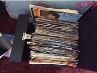 90 X 45rpm vinyl singles