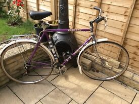 Carlton mans bike g.c except new tyres wanted £ 40 ono