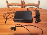 Xbox one 500gb + one controller