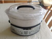 Electronic Food Steamer & Rice Cooker
