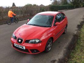 2008 Seat Ibiza 1.4 Sportrider 99bhp