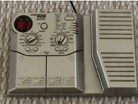 """ZOOM 606 GUITAR PROCESSOR WITH """"WAH WAH"""" PEDAL - good used condition 👀"""