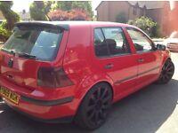 VW Golf Mk4 - full years MOT
