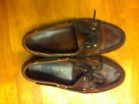 Sebego Docksides (Deck shoes) Size 7 in Brown Leather