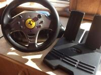 Ferrari steering wheels and pedals for ps1and ps2