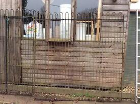 Dog run/kennel sections