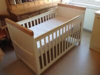 "MOTHERCARE ""HUMPHREYS"" COT BED"