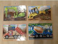 Wooden Construction Puzzles