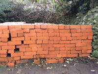 Red Bricks Unused 600+ take as many as you want, charged 40p per brick, priced for quick sale