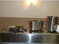 Parry wet well gastronorm bain marie
