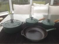 Pots and frying pan