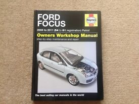 Ford Focus Haynes Owners Workshop Manual