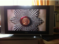 philips lcd flat screen tv with remote