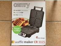 Brand new Wafle Maker Camry 3025