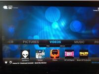 Amazon Fire tv stick complete with KODI installed simple to use with shortcut on home screen