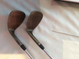 Titleist Wedges - Oilcan 8620. 54 -10 and 60 - 8.