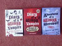 Wimpy vampire/ werewolf books