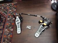 Mapex P700 Double Bass Drum Pedal & Protection Racket Case