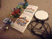 Skylanders starter kit, including portal, DVDs and characters