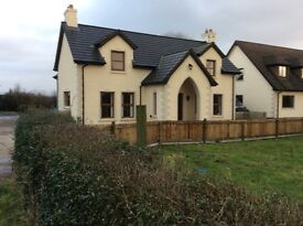 3 Bedroom house with garden. One mile from Randalstown and motorway.