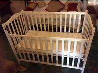 Baby,s cot with mattress