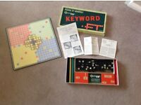 Vintage Waddingtons Keyword board game