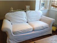 Laura Ashley 2 Seater Sofa Bed (including IKEA sofa covers)