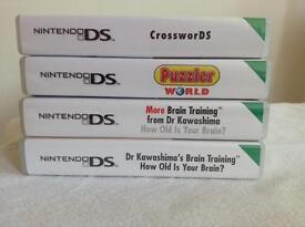 Nintendo DS - bundle of 4 games