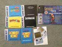 6 x Game Boy & Console Information