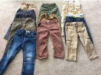 Bundle of boys trousers age 2-3years