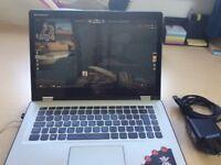 Lenovo yoga i7 2.5ghz 8gb RAM basic gaming laptop, touchscreen, tablet