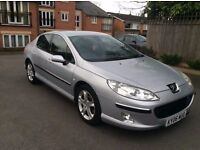 06 PEUGEOT 407 HDI DIESEL AUTO TRIPTRONIC PX WELCOME