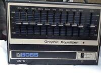 Boss GE-10 graphic equaliser