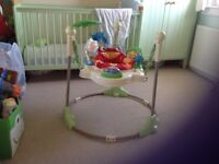 Fisher Price Rainforest Jumperoo Used but in good condition