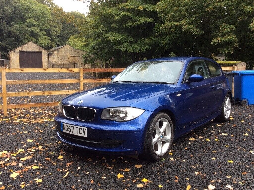 BMW 116i sport, full dealership service history, 11 MOT