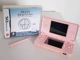 Nintendo DS and Brain Training Game