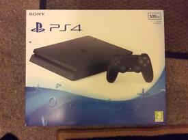Playstation 4 slim brand new & sealed in box
