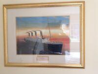 Titanic commemorating one hundred years last sunset