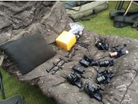 Quality carp setup set up, greys, Shimano, fox, Delkim etc Gardner atts