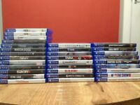 PlayStation 4 (ps4) games and controllers in excellent condition