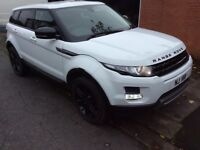 2012 61 Land Rover Range Rover evoque pure tech 2.2 diesel mint,white,only 92k miles full service