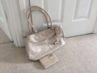 Genuine, original Radley handbag and matching purse (cream no.1)