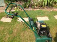 Qualcast classic petrol 35s lawn raker no box no cutter.