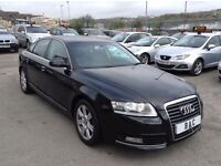 AUDI A6 2.0TDI E 2009 4DR SALOON 6 SPEED MANUAL+1 OWNER NEW+SAT-NAV++FULL SERVICE HISTORY++CHEAPEST!