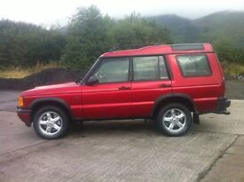 LANDROVER DISCOVEREY TD5 5 speed manual.